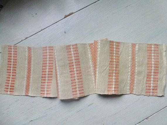 Vintage Swedish tablecloth / Table runner