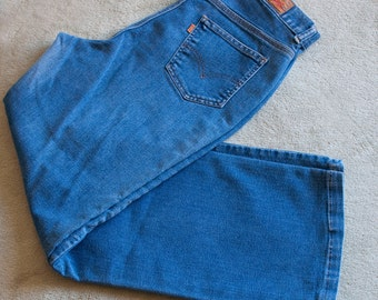 1970s MED/LRG cloth tag LEVIS denim jean pants
