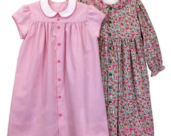 Ruthie Pattern / Girl's Dress Pattern / Cap Sleeve Pattern / Front Button Dress Pattern/ Children's Corner  #282