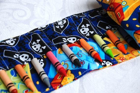 Crayon Roll Pirates Treasure
