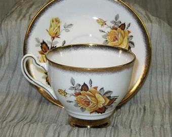 Vintage Rosina, Tea Gift Set, Tea Set, Vintage Tea Set, Tea Cup, Tea Saucer, Vintage 1920's