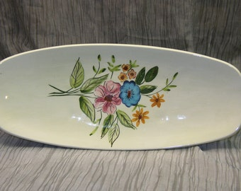 Signed Holland-Mold Oval Serving Plate