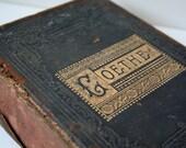 Antique Poetry Book - Goethe
