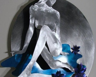 Metal Wall Art Painting Sculpture, Home Decor, Abstract Art, Design by Alex Kovacs - AK123A