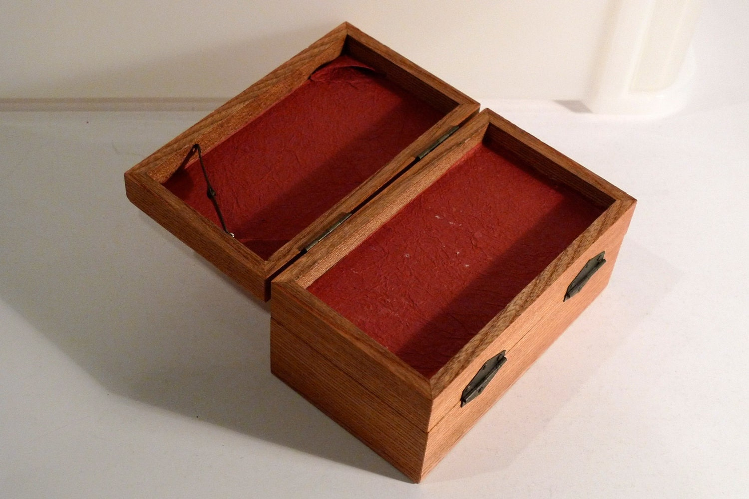how to build a wooden box with secret compartment
