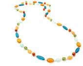 multicolor necklace - summer colors