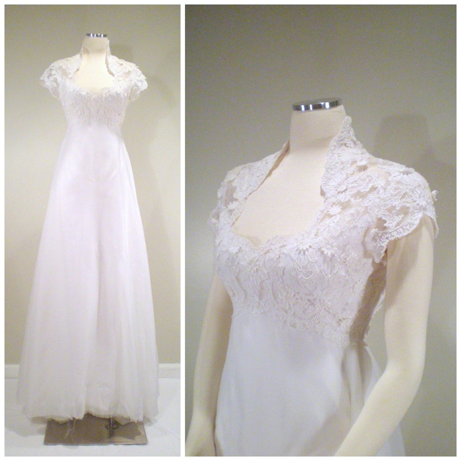 Wedding Dresses Boston: 1960s Priscilla Of Boston Wedding Dress Gown Kate Middleton