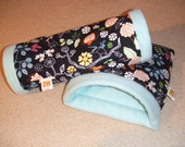 Piggiepigpigs Piggie Dig and Tubey Tunnel Duo both in Size Small for your Guinea Pig or Small Pet
