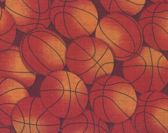Basketballs Fabric, Basketball Fabric, Sports Fabric, 00274