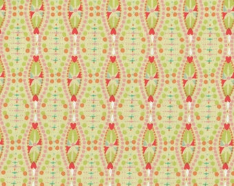 SALE, Green Fabric, Sunday Afternoon by Connecting Threads, Heart Fabric, 1 yard Fabric, 00750