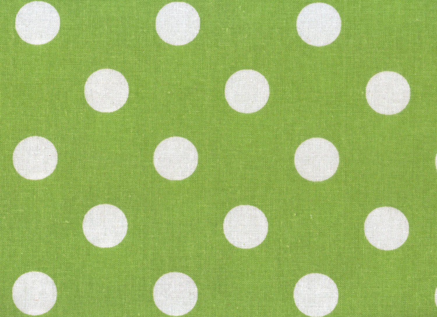 Lime Green Polka Dot Fabric Green Fabric By Thebusybeequilting