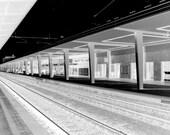 david ballinger - italian - train station - art