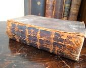 Antique Vintage German Bible 1869 Dr. Martin Luther