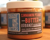Organic Cinnamon Peanut Butter - 16 OZ