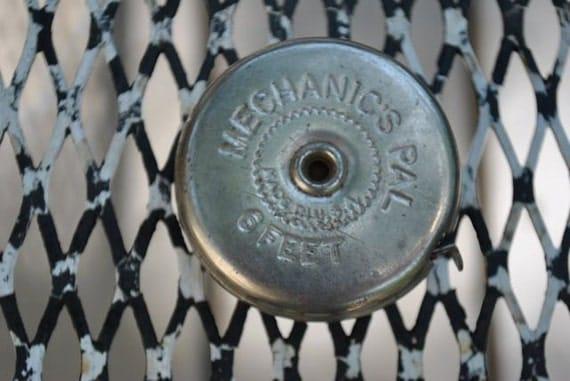Cool Tool - Old Metal Measuring Tape