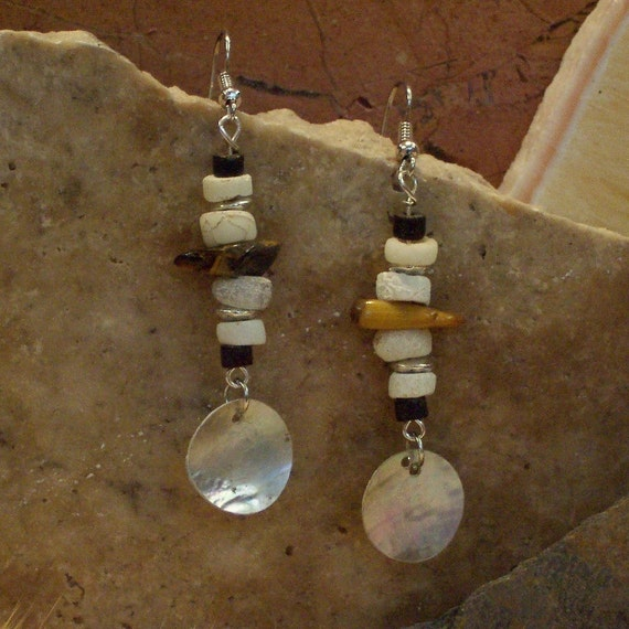 Tiger Eye & Mother of Pearl