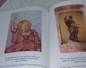 """Original Art Book """"While Angels Weep """" Angels of Peace"""