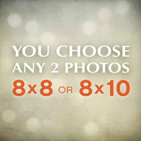 Discounted photo set your choice 8x8 or 8x10 custom prints choose your wall art home decor