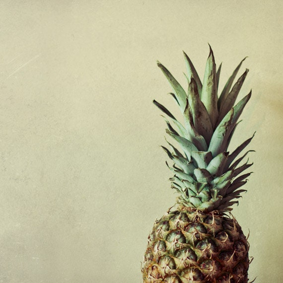 Pineapple photo Food photography Kitchen art in beige green : il570xN344705663 from www.etsy.com size 570 x 570 jpeg 68kB