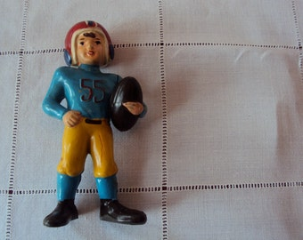 Wilton Plastic Toy Football Player Doll