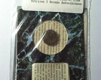Roman 270- 273 AD Tetricus I Bronze Coin