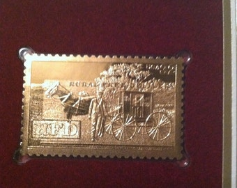 22kt First Issue Replica Stamp