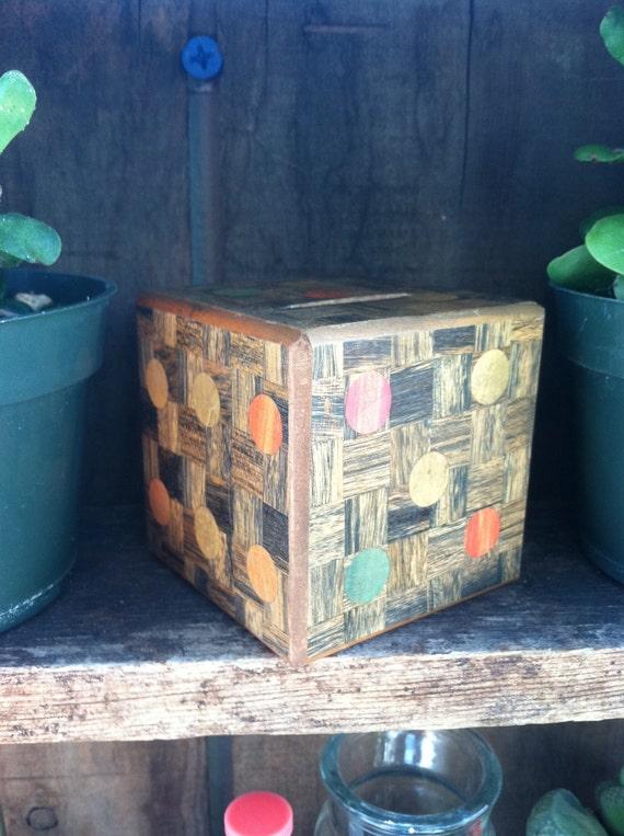 Puzzle Box Coin Bank