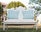 Vintage Settee - reupholstered