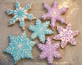 Gluten Free Snowflake Sugar Cookies