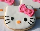 Gluten Free Hello Kitty Cookies