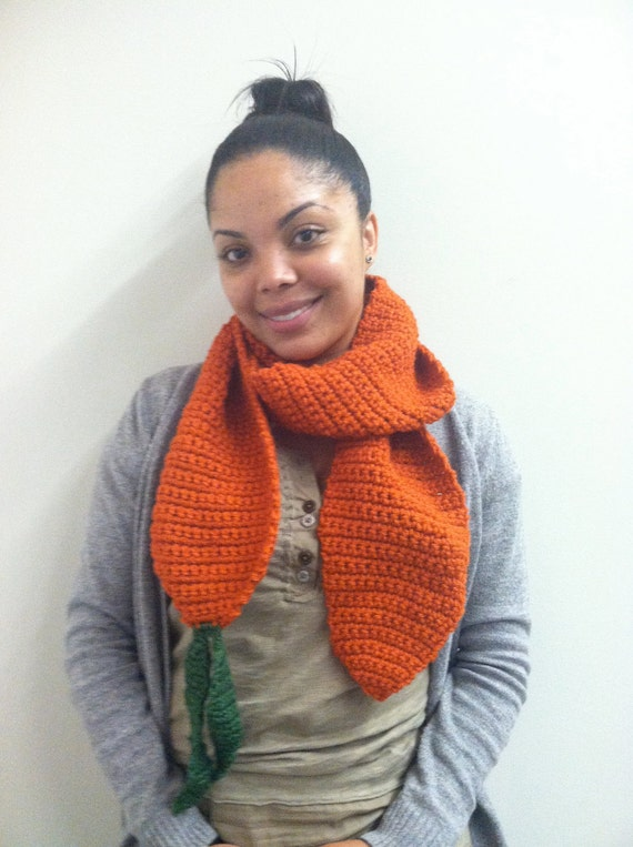 Spring Time Carrot Scarf