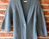 SALE Boho/ Mod/ Vintage/ Caslon Sweater Size M