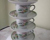 Tea Set Lamp for Kairi- Reserved Custom Listing