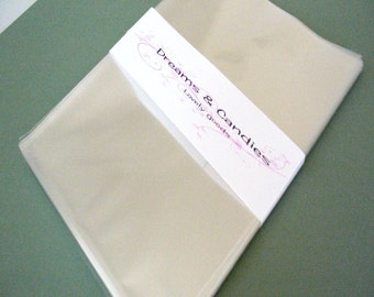 200- 5 x 7 Clear Cello Bags -Transparent Cello Bags -Food Safe Cello Bags -Clear Cellophane Bags -Food Safe Bags