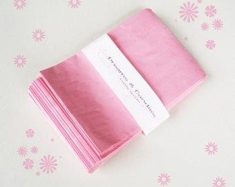 "75- 4 3/4x6 3/4""  Gourmet Bags Glassine Lined Paper for decorate, stamp, gift bags, envelopes, party favors, and many more"