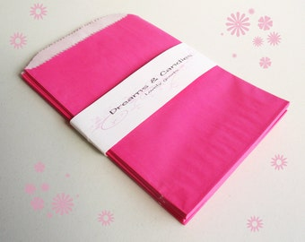 "25- 4 3/4x6 3/4""  Gourmet Bags Glassine Lined Paper for decorate, stamp, gift bags, envelopes, party favors, and many more"