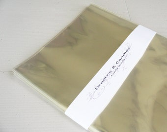 "25 Clear Cello Bags 8"" x 10"""