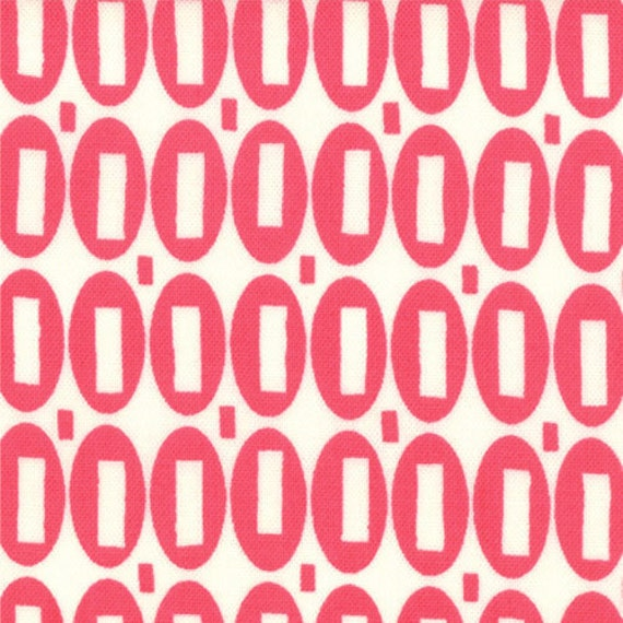 Pezzy Print in Tonal Hot Pink By American Jane for MODA, 1 Yard, One Yard