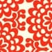 Wall Flower in Cherry, Cherry Wallflower, Lotus Collection, Amy Butler for Westminster Fabrics, Half Yard, 1/2 Yard