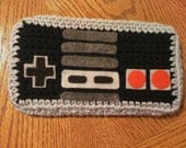 Crocheted Nintendo Controller - Accessory Bag