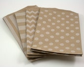 Reserved - 125 Kraft Middy Bitty Bags