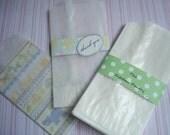 Glassine Bags 100 Flat Treat Glassine Bag - MEDIUM 3 x 7  Favor Bags