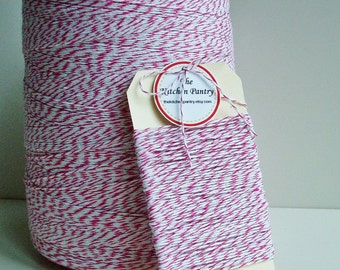 Baker's Twine Pink and White 25 yards String