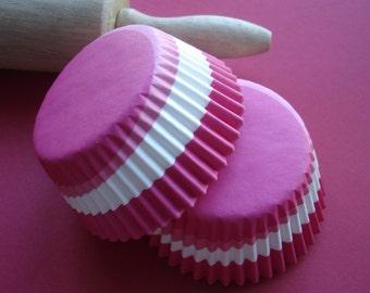 Cupcake Liners  Pink Swirl Baking Cups ( 50 )