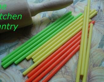 Lollipop Sticks or Cake Pop Sticks - Citrus olors  - 4 Inches (60)