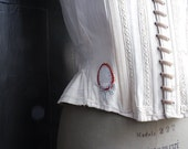 RESERVED FOR C. // CaStiGLioNE- 1800s italian corset. Restored