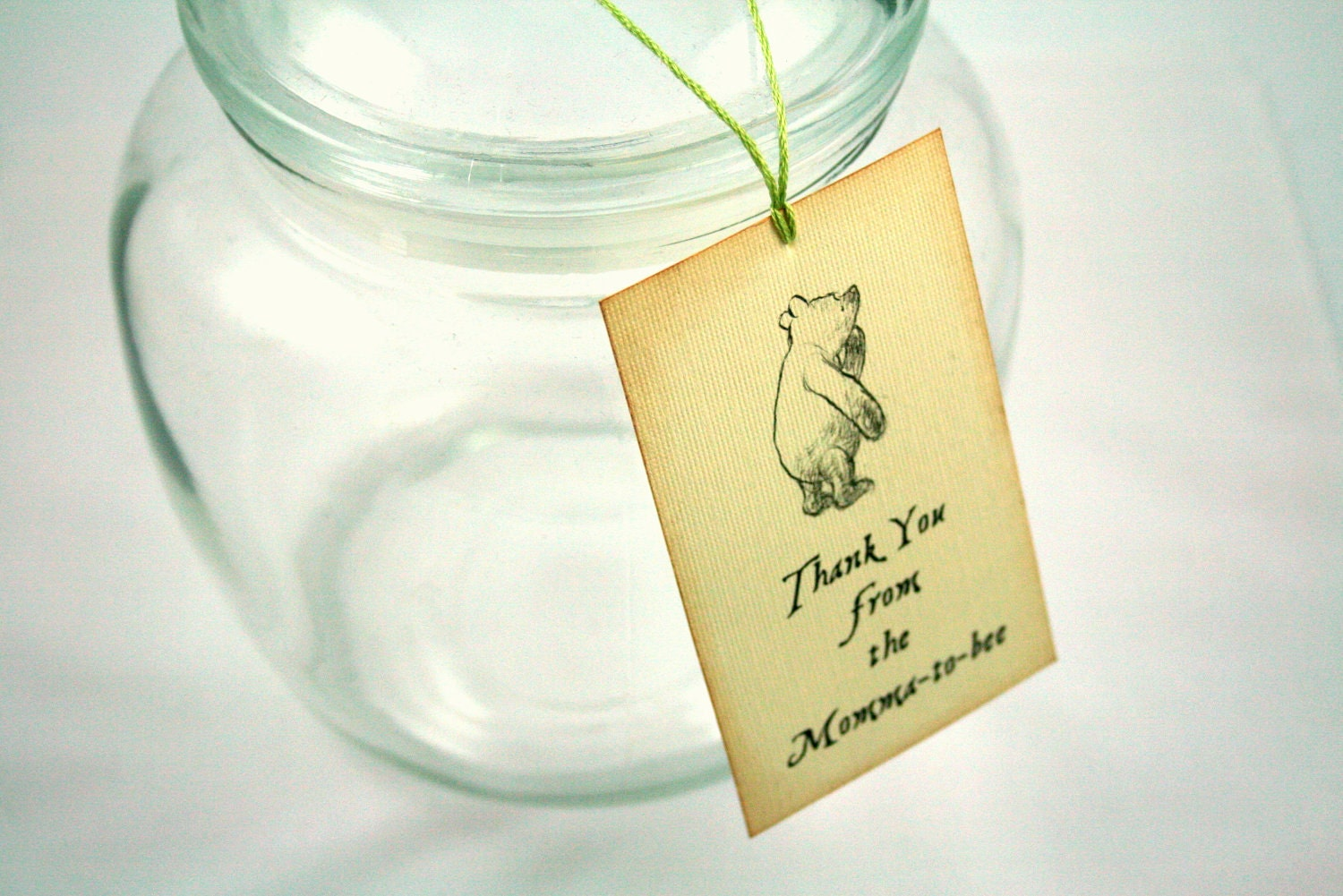 baby shower tags winnie the pooh theme by theturningofapage