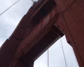 San Francisco Golden Gate Bridge--framed photo