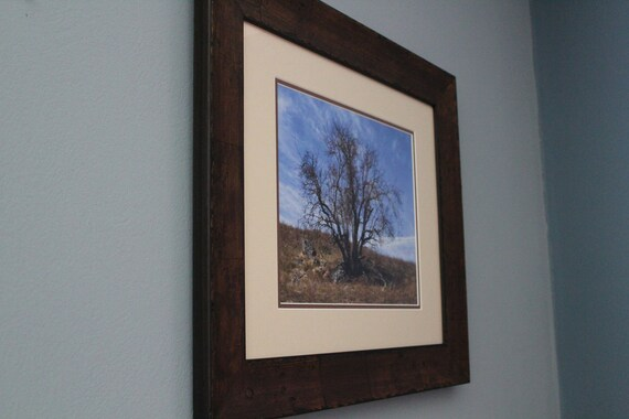 Reduced Price/Sale--Solitude--matted framed nature photo