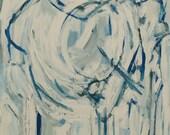 Elephant Abstracted - Acrylic Canvas - Original
